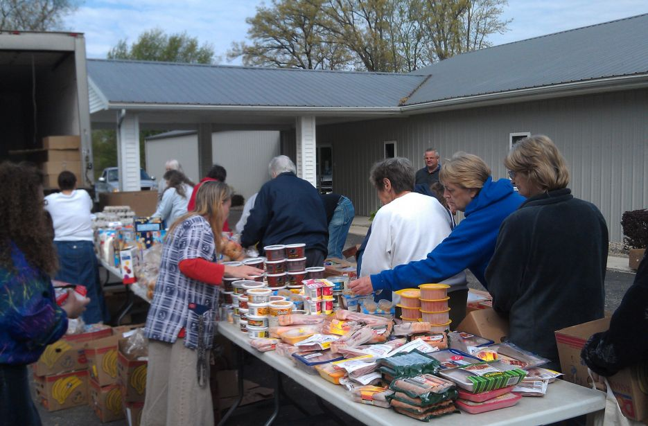 Mobile Food Pantry Program