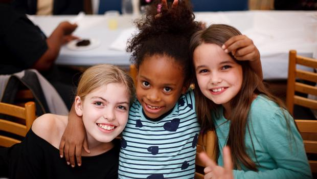 Happy Kids From The Food 4 Kids Program